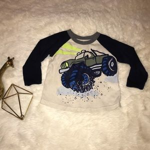 Other - 🚘Long Sleeve Truck Graphic Tee 2t Boy🚘